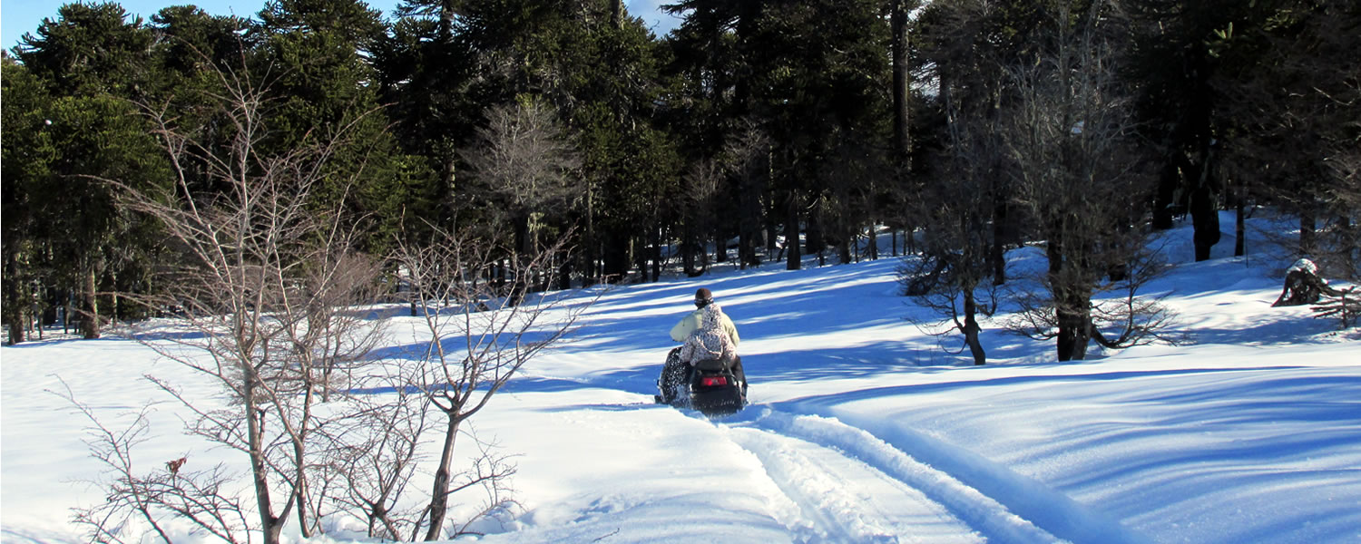 excursiones con motos de nieve